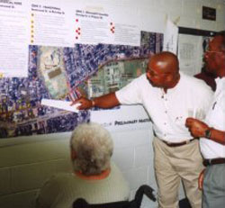 Public meetings helped determine the future of the community.